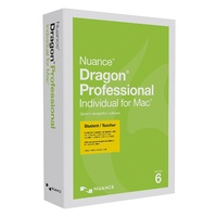 Dragon Professional Individual for Mac v6 Student/Teacher Edition