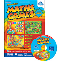 Interactive Maths Games CD-ROM - Ages 5-9