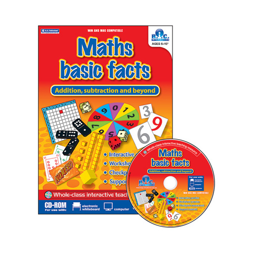 Maths Basic Facts: Addition, Subtraction and Beyond CD-ROM