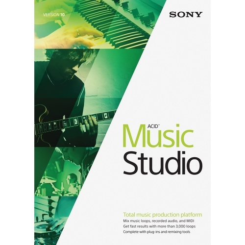 Sony ACID Music Studio 100 User Licence
